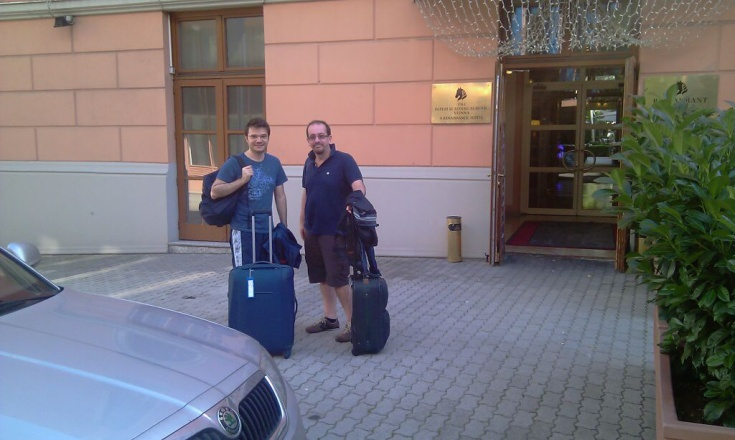 Taxi from Karlovy Vary to Vienna