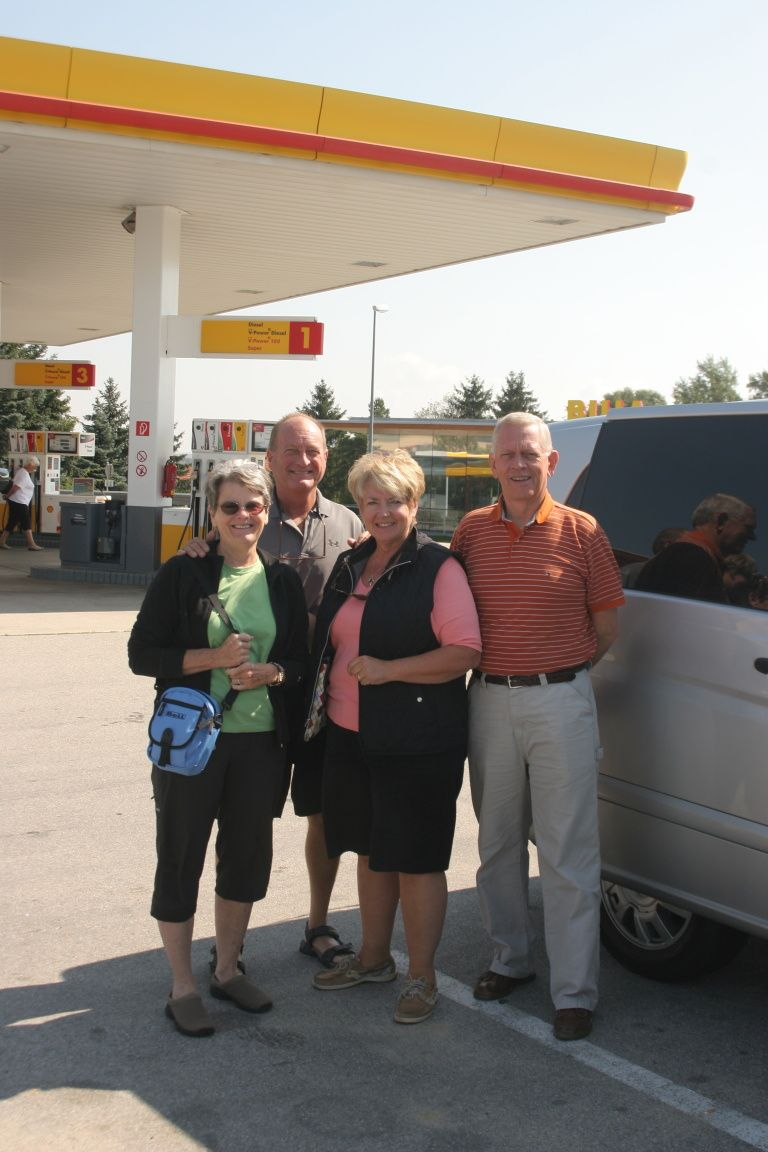 Australian group that used our car services from Prague to Vienna